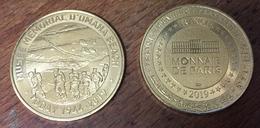 14 SAINT LAURENT SUR MER MUSÉE OMAHA BEACH 39/45 WW MÉDAILLE MONNAIE DE PARIS 2019 JETON MEDALS COINS TOKENS - 2019