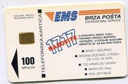 TK 04715 BOSNIA & HERZEGOVINA - Chip - Bosnië