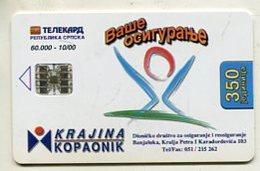 TK 04721 BOSNIA & HERZEGOVINA - Chip - Bosnië