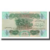 Billet, Iraq, 1/4 Dinar, 1992-1993, KM:77, NEUF - Iraq