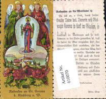 610070,Andachtsbild Heiligenbildchen St. Corona Kirchberg Am Wechsel - Images Religieuses