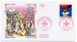 FDC France 1996 - Croix Rouge 1996 YT 3039 - Paris - FDC