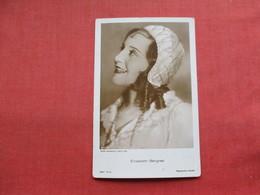 RPPC Elizabeth Bergner Ref 3304 - Famous People