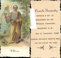 610503,Andachtsbild Heiligenbildchen S. Petrus - Andachtsbilder