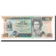 Billet, Belize, 10 Dollars, 1990, 1990-05-01, KM:54a, SPL+ - Belize