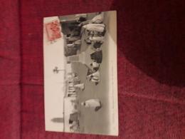Carte Postale  Ancienne  Tozeur Monument De Canova Et Rue Des Machands - Tunisie