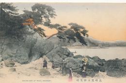 JAPAN - SHIOMI-SAKI AT MOGI, NAGASAKI. - Hand Colored - By SATO & CO. - Japan
