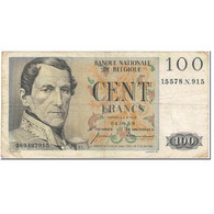 Billet, Belgique, 100 Francs, 1959, 1959-08-04, KM:129c, TB - 100 Francs