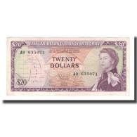 Billet, Etats Des Caraibes Orientales, 20 Dollars, Undated (1965), KM:15g, TTB - Oostelijke Caraïben