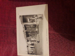 Carte Postale  Ancienne  234 Tozeur Rue Des Marchands - Tunisie