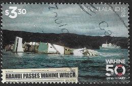 New Zealand 2018 Wahine Sinking $3.30 Good/fine Used [39/32155/ND] - New Zealand