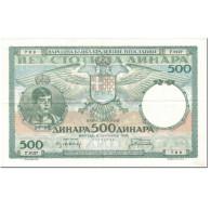 Billet, Yougoslavie, 500 Dinara, 1935, 1935-09-06, KM:32, SUP+ - Yougoslavie