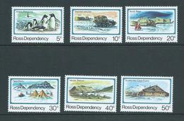 Ross Dependency 1982 Scott Base Anniversary Set 6 MNH - Unused Stamps