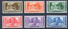 VATICANO 1938  CONGRESSO DI ARCHEOLOGIA  55/60 - MNH** - Unused Stamps