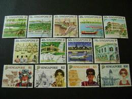 Singapore 1990 Tourism Definitive Set (SG 624-636) - Used - Singapore (1959-...)