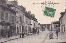 77 COULOMMIERS - Avenue Gastellier - J.B. N° 65 - Animée - Coulommiers