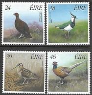 Ireland  1989   Sc#755-8   Game Birds Set  MLH   2016 Scott Value $7.75 - 1949-... République D'Irlande