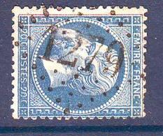 N° 22 Obl GC 1279  ... DARNETZ Correze , Ind 17 = 220 Euro Sur Lettre - Marcophilie (Lettres)