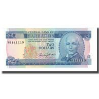 Billet, Barbados, 2 Dollars, Undated (1986), KM:36, NEUF - Barbades