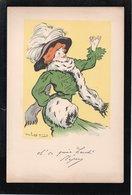 DE LOSQUES...trés Belle Lithographie..pub Quina Laroche....actrice...REJANE - Litografia