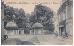 27 Eure -  BEAUMONT-LE-ROGER - Le Camp Frémont - Entrée Du Château - Beaumont-le-Roger