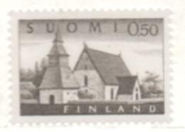Finnland 1972 Lammi Kirche MiNr.: 564y Postfrisch; Finland MNH YT 541C - Finland