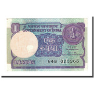 Billet, Inde, 1 Rupee, Undated (1983-84), KM:78Ad, SPL - Inde