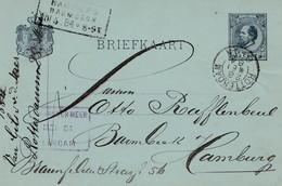 Niederlande: 1916: S'Gravenhage Ganzsache Nach Rotterdam - Netherlands