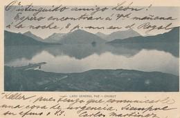 Argentinien: 1904: Ansichtskarte Lago General Paz, Chubut - Argentina
