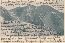 Argentinien: 1904: Ansichtskarte Cordail Mendoza - Argentina