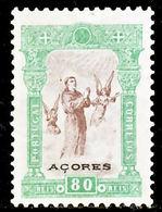!■■■■■ds■■ Azores 1895 AF#81(*) St. Anthony. 80 Réis (x7118) - Azores