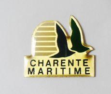 Pin's Logo DEPARTEMENT Charente Maritime - Villes