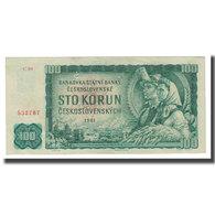 Billet, Tchécoslovaquie, 100 Korun, 1961, KM:91a, TTB - Tchécoslovaquie