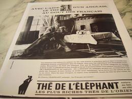 ANCIENNE PUBLICITE THE DE L ELEPHANT  1964 - Affiches