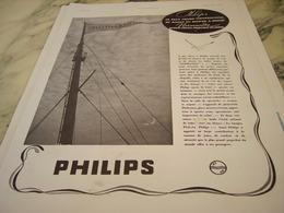 ANCIENNE PUBLICITELE NORMANDIE ET PHILIPS 1935 - Musik & Instrumente