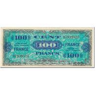 France, 100 Francs, 1945 Verso France, 1944, SERIE DE 1944, SUP, Fayette:VF25.1 - Treasury
