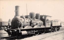 ¤¤  -   Carte-Photo D'une Locomotives   -  Chemins De Fer  -   Machine N° 802   -  Train  -   ¤¤ - Matériel