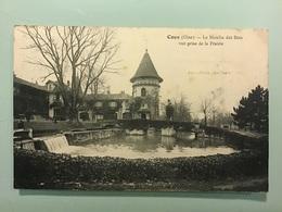 COYE ( Oise ) — Le Moulin Des Bois - Vue Prise De La Prairie - Frankrijk