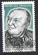 FRANCE  2453 Raoul Follereau Père Des Lépreux   . - France