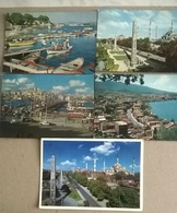 5 CART. TURCHIA    (109) - Cartoline