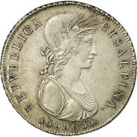 Monnaie, États Italiens, CISALPINE REPUBLIC, 30 Soldi, 1801, Milan, TTB+ - Monedas Regionales