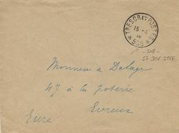 GUERRE D'ORIENT - Enveloppe Du S P 508 - 57 è Div. D'infanterie à Korytza - Marcophilie (Lettres)