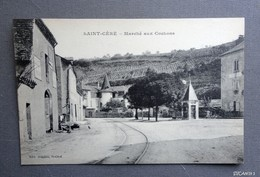 46 -  SAINT-CERE - Marché Aux Cochons - Saint-Céré