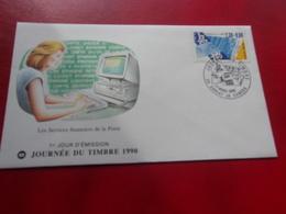 FRANCE (1990) Journée Du Timbre SARLAT LA CANEDA - FDC