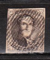 6 (ou 10)  Médaillon Non Dentelé - Un Peu Juste - Oblit. D21 HAVELANGE Ou MESSINES - LOOK!!!! - 1851-1857 Médaillons (6/8)