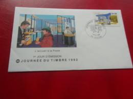 FRANCE (1992) Journée Du Timbre CESTAS - FDC