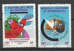 Nouvelle Calédonie Poste N° 505  Et  506   Oblitérés   B/T/B     Soldé  à Moins De 20 %  ! ! ! - Neukaledonien