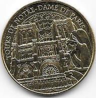 MEDAILLE TOURISTIQUE MONNAIE DE PARIS 75004 TOURS NOTRE DAME 2018 - 2018
