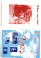Epreuve - La Poste - Meilleurs Voeux 2001-2007-voir état - Epreuves De Luxe