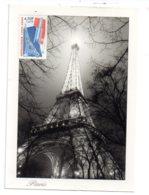 Carte Paris Avec Timbre Métallurgie 1900-2000-voir état - FDC